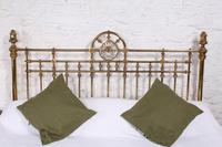 Handsome Super King Size Victorian all Brass Bed (4 of 12)