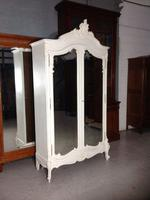Stunning French Carved Armoire