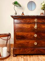 French Antique Drawers / Louis Philippe Commode / Mahogany Chest of Drawers (2 of 7)