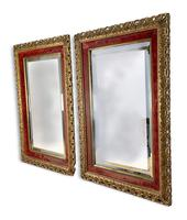 Pair of Carved Giltwood Mirrors (5 of 5)