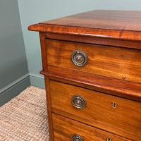 Fine Quality Victorian Mahogany Antique Pedestal Desk (5 of 7)