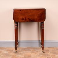 19th Century Mahogany Pembroke Work Table (7 of 13)