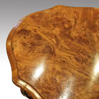 Victorian Oval Walnut Work Table (6 of 8)