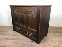19th Century Welsh Oak Coffer Bach (M-550) (4 of 9)