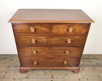 Antique 19th Century Mahogany Chest of Drawers (2 of 9)