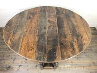 18th Century Oak Gateleg Table (3 of 10)