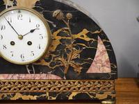 Art Deco Marble Clock Garniture (7 of 13)