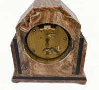 Art Deco Mantle Clock Marble Period 1920s Swinden Birmingham (7 of 8)