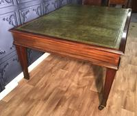 George III Style Mahogany Partners Library Table (8 of 14)