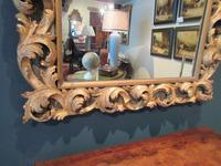 Fine Early Victorian Antique Timber Gilt Mirror (4 of 7)