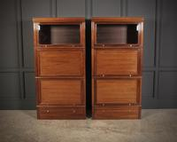 Pair of Stacking Library Sectional Bookcases (6 of 10)