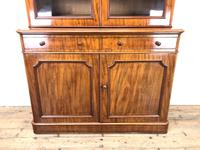 Antique Mahogany Two Stage Bookcase (3 of 10)