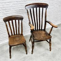 Combination Set of Windsor Dining Chairs (3 of 4)