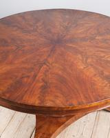 William IV Flame Mahogany Centre Table (2 of 7)