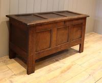 Original Late 17th Century Oak Coffer (6 of 11)
