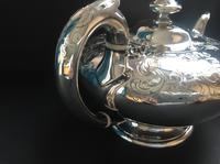 Superb Antique Victorian Silver Circular Teapot - 1846 (3 of 6)