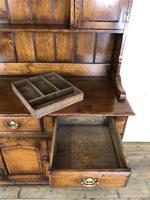 Large 20th Century Georgian Style Oak Dresser (5 of 12)