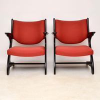 1960's Pair of Vintage Italian Armchairs (10 of 12)