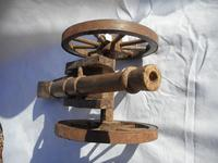 Large Wooden Model of a Cannon (2 of 5)