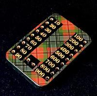 Tartanware Bezique Board (3 of 4)