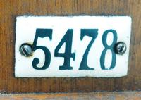 Antique Industrial Railway all Clock – Drop Dial Station Clocked Number 5478 (2 of 15)
