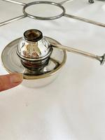 Edwardian Walker & Hall Silver Plated Hot Plate (9 of 10)