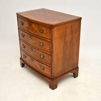Antique Burr Walnut  Chest of  Drawers (3 of 12)