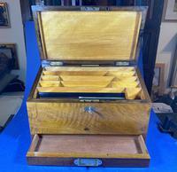 Victorian Walnut Stationary Box (8 of 15)