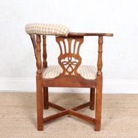 Georgian Corner Elbow Chair Beech (7 of 10)