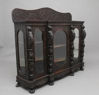Superb quality 19th Century Burmese breakfront cabinet (4 of 11)