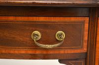 Antique Inlaid Mahogany Desk / Writing Table (3 of 13)