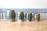 Scottish Pottery Slipware Barrel Storage Jars x4 (10 of 35)