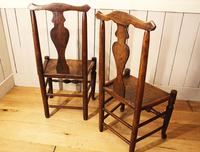 Two Georgian Country Chairs. Ash & Elm (8 of 9)