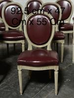 Set of 8 French Dining Chairs Lovely Original Finish (16 of 18)