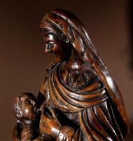 Charming Maria Lactans Sculpture Continental Early 18th Century (11 of 14)