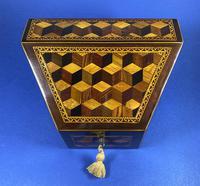 Victorian Tunbridge Ware Stationery Box (7 of 9)