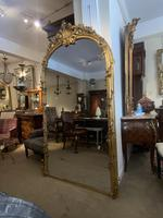 Very Large Arched Mirror with Scrolling Flowers (7 of 9)