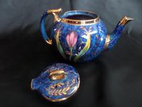 Beautiful 1930's Tea Pot. Decorated so well. Believed Sadlers (3 of 6)