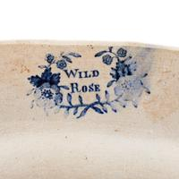"""""""Wild Rose"""" Pattern Meat Plate (7 of 7)"""