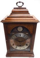 Fine Vintage Caddy Top Mantel Clock Dual Musical Bracket Clock by Elliott (3 of 13)