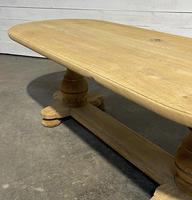 French Bleached Oak Monastery Dining Table (22 of 30)