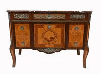 Neo Classical Swedish Commode Marquetry Chest of Drawers Scandanavian (4 of 16)