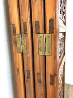 Chinese Elm Carved Screen (13 of 13)