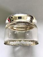 Sterling Silver Topped Dressing Table Jar (5 of 8)