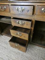 Neat 18th Century Oak Dresser (4 of 10)