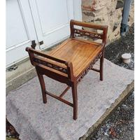 19th Century Chinese Hardwood Window Seat (4 of 7)