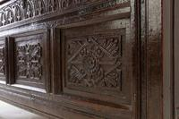 17th Century English Oak Panelled Coffer (7 of 9)