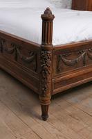 Fabulous Renaissance Style Oak Carved Double Bed (4 of 11)