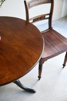 Georgian Mahogany Round Supper Table (7 of 11)