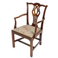 18th Century Chippendale Elbow Chair (7 of 8)